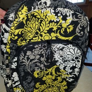 Vera Bradley Full size Backpack w/ lunch bag